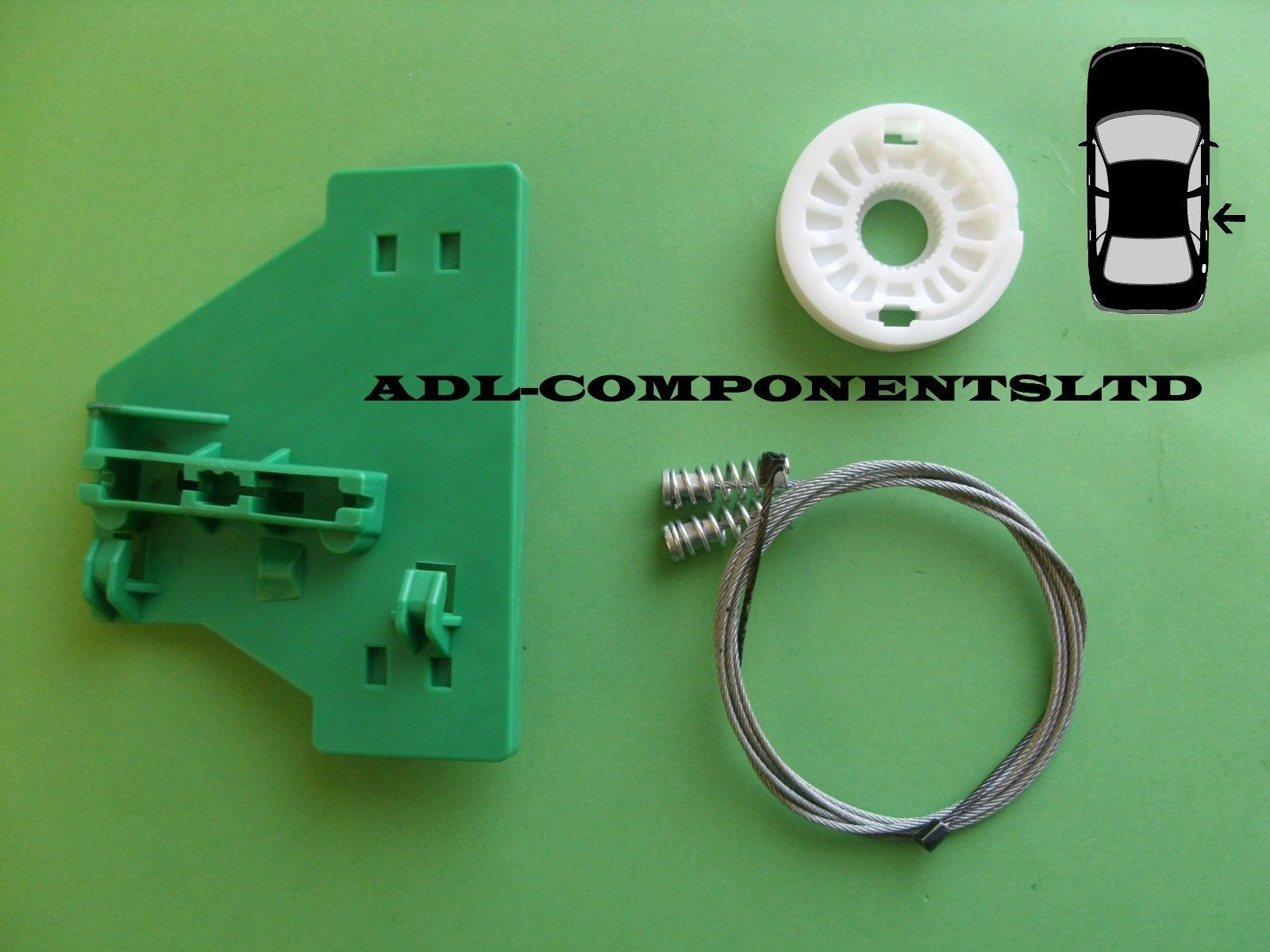 Audi a4 window regulator repair kit rear right door 2002 for 2002 audi a4 rear window regulator