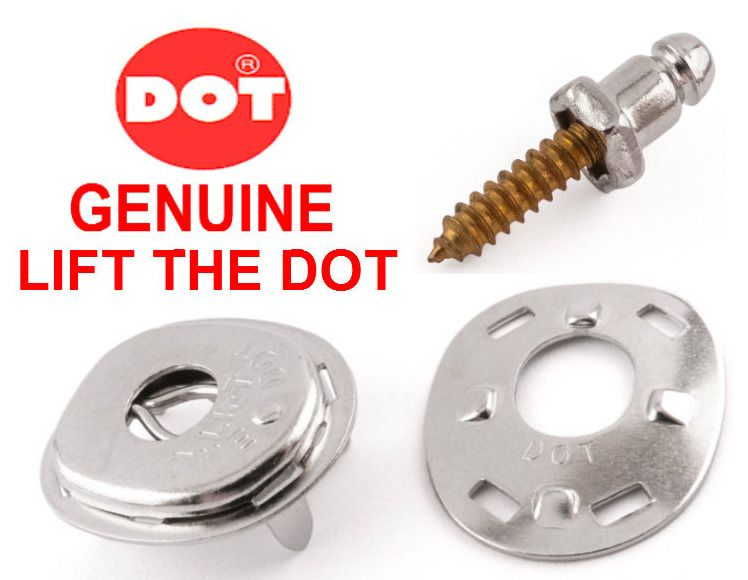 Lift the dot socket plate fastener boat cover canopy canvas Genuine DOT